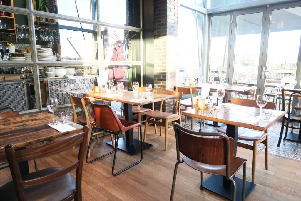 Restaurant de veiling italiaans genieten met uitzicht - Eigentijds restaurant ...