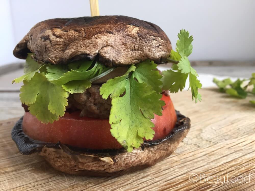 HEALTHY HAMBURGER MET PORTOBELLO'S