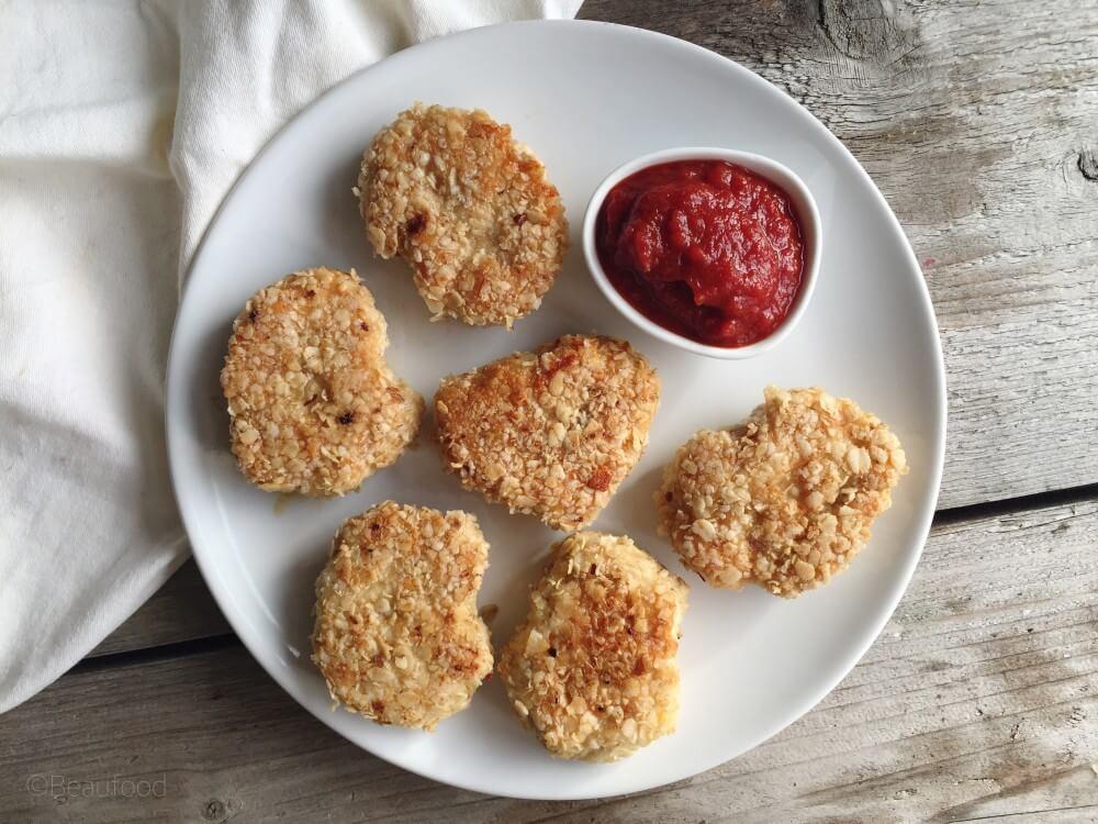 Zelf gezonde kipnuggets maken