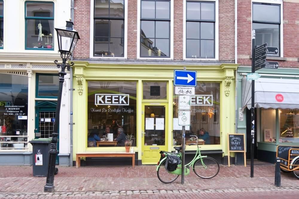 KEEK | Kunst en eerlijke koffie in Utrecht