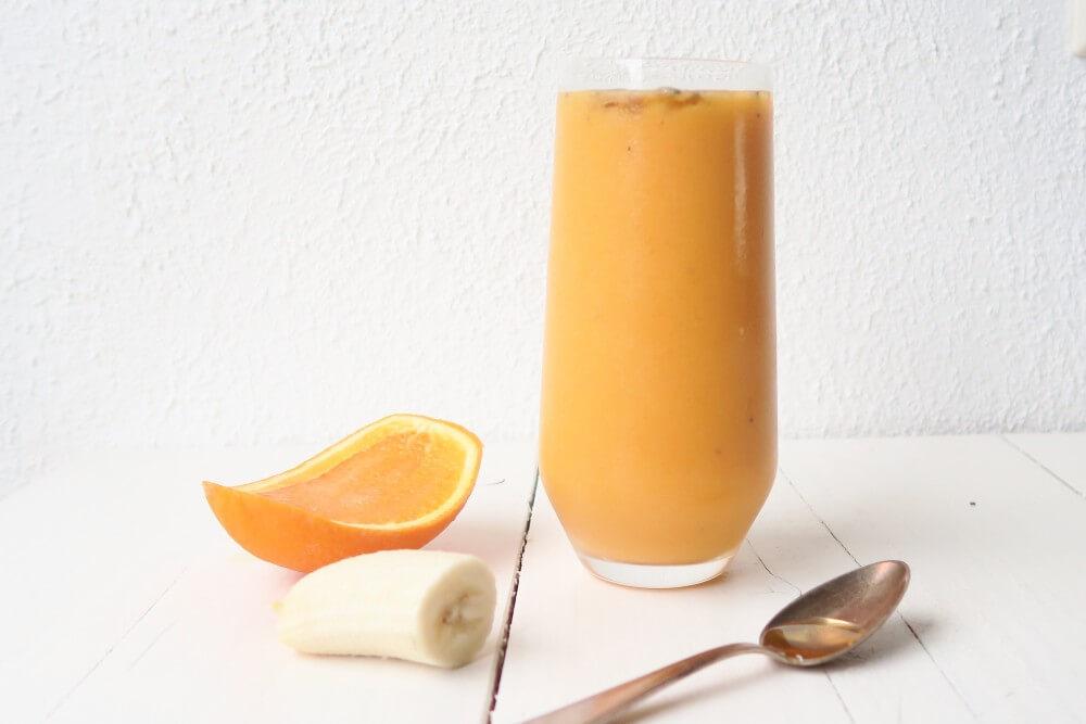 Pompoen sinaasappel smoothie