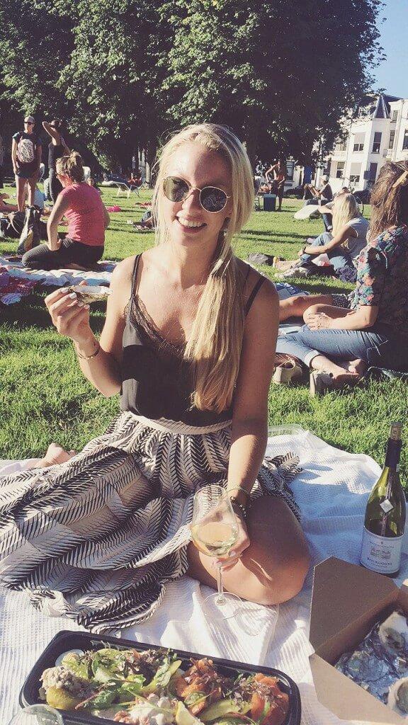 Oesters, wijn en een heerlijk visplateau | Uit eten in het park