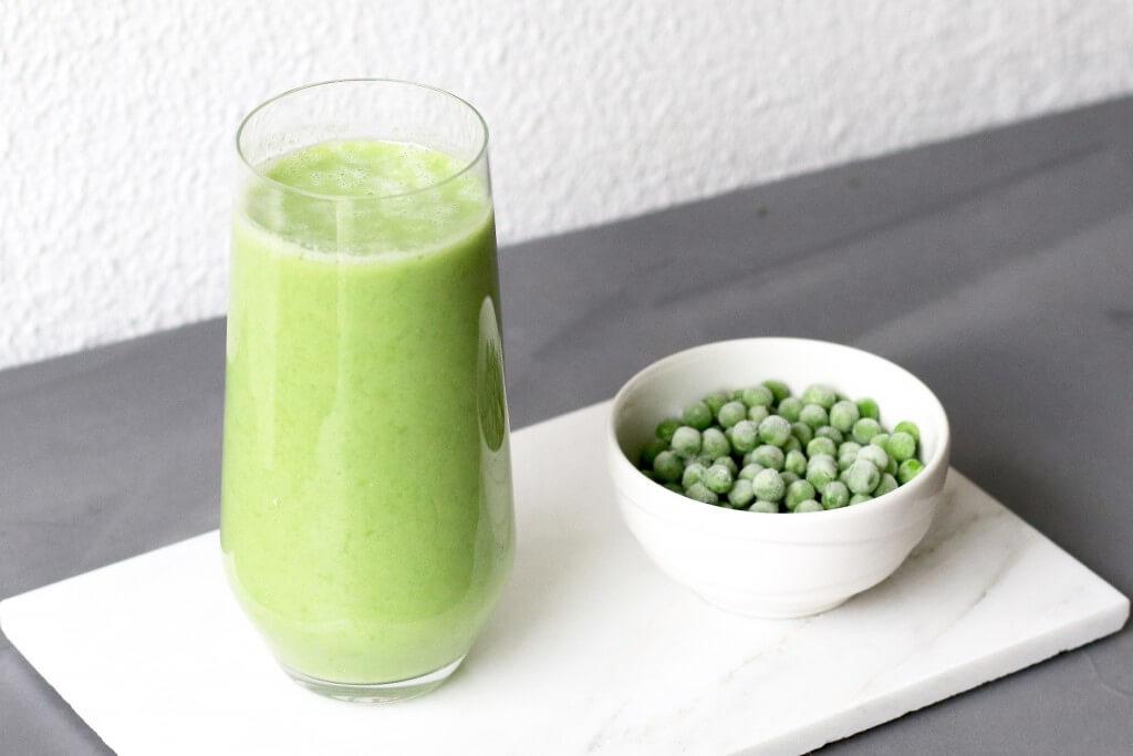 Groene smoothie van doperwten, Groene smoothie recepten, Doperwten gezond?, Geneeskracht van doperwten, Gezonde foodblogs, Glutenvrije foodblogs, Smoothies Beaufood