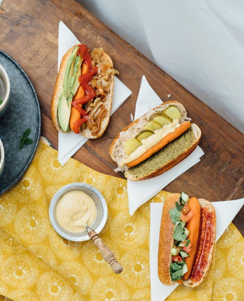 how to cook vegan hotdogs