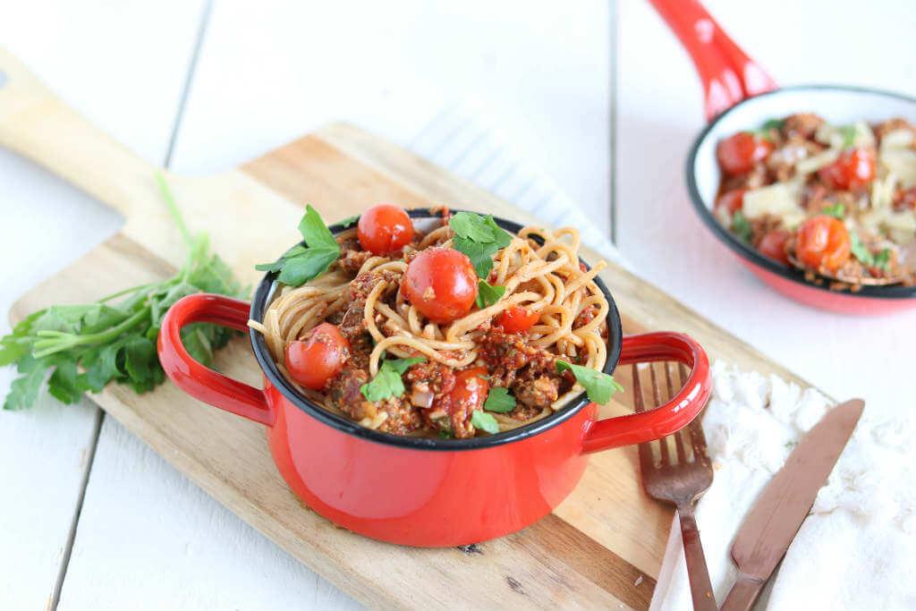 Gezonde pasta met champignonsaus, Glutenvrije pasta recepten, Lekker eten met Linda pasta recepten, Beaufood pasta's, Gezonde pasta saus, Pasta saus recept, Pastasaus champignons