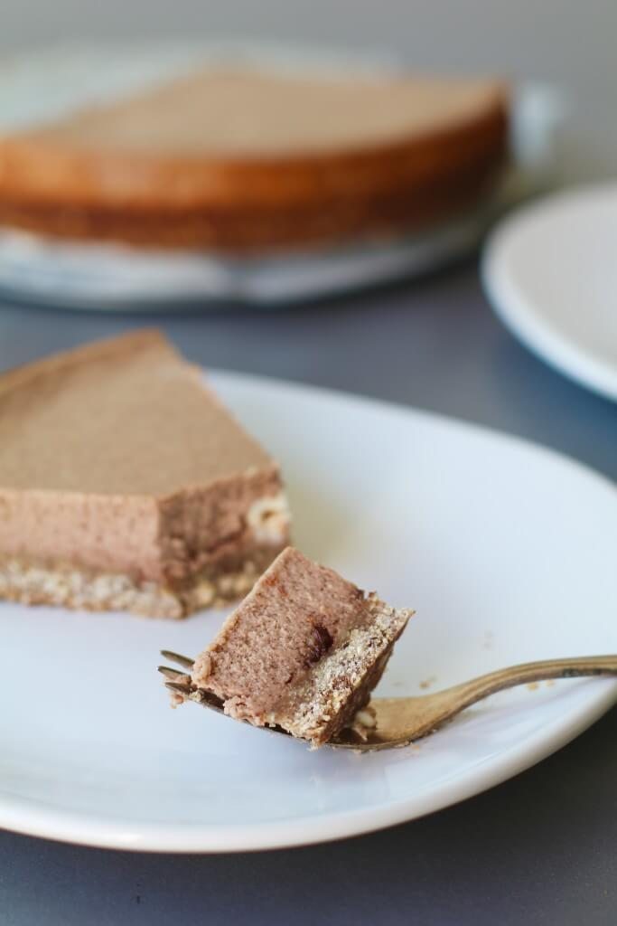 NUTELLA CHEESECAKE MET HAVERBODEM