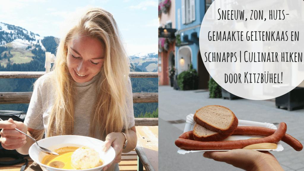 VIDEO: Sneeuw, zon, huisgemaakte geitenkaas en schnapps | Culinair hiken door Kitzbühel, Eten in Kitzbühel, Persreizen Oostenrijk, Hiken in Kitzbühel, Beaufood persreis, Foodbloggers persreizen, Culinaire hike Oostenrijk