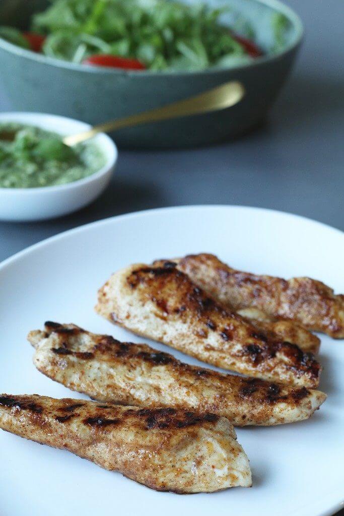 Gegrilde kip met rucola pesto, Recepten met kip, Beaufood recepten, Gezonde foodblogs, Zelf gezonde pesto maken, Gezonde hoofdgerechten, Glutenvrije foodblogs