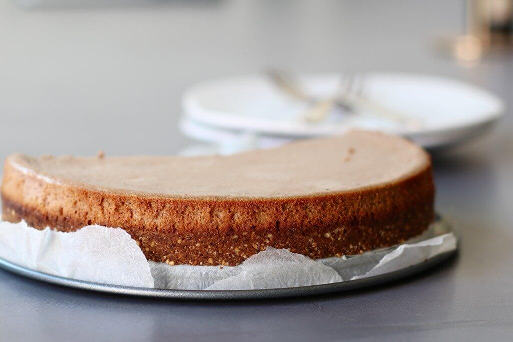 Nutella cheesecake met haverbodem, Gezonde cheesecake, Cheesecake met Philidelphia, Glutenvrije cheesecake bodem, Glutenvrije taartbodem, Beaufood taarten, Recepten Nutella