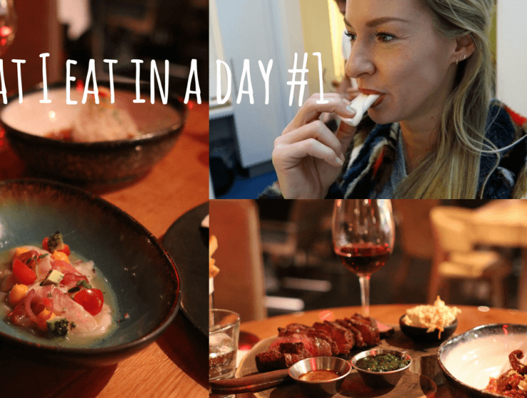 VIDEO: What i eat in a day #1