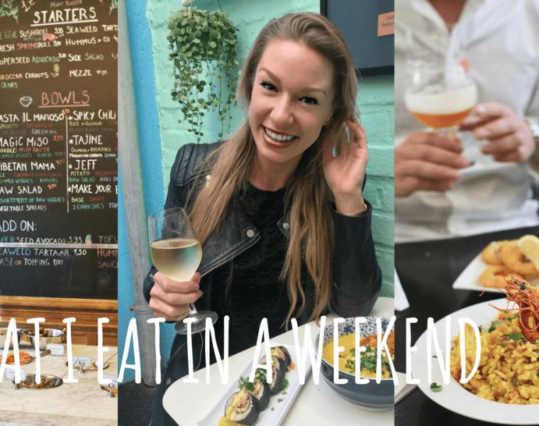 VIDEO: What I eat in a Weekend (in Gent!), Restauranttips Gent, Gezonde restaurants Gent, Le Botaniste Gent, Cochon de Luxe Gent, De Superette Gent, Holy Food Market Gent, Pakhuis Gent, Restaurant reviews Gent, Hotel Harmony