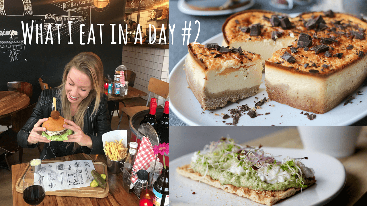 Video: What I eat in a day | EEN BEAUFOOD BURGER BIJ DELIVEROO?!