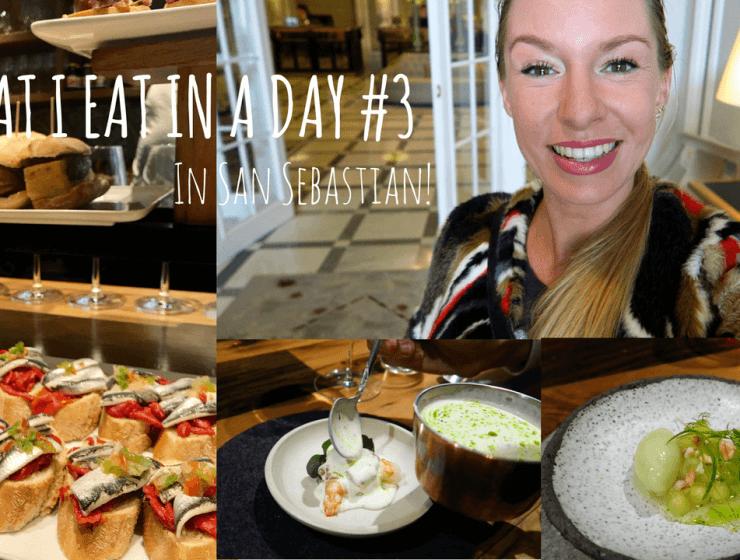 What I eat in a day in San Sebastian, Foodvlogs, Opel Grandland X, Beaufood video's