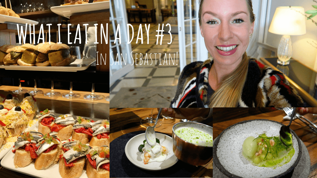 What I eat in a day in San Sebastian, Foodvlogs, Opel Grandland X, Beaufood video's