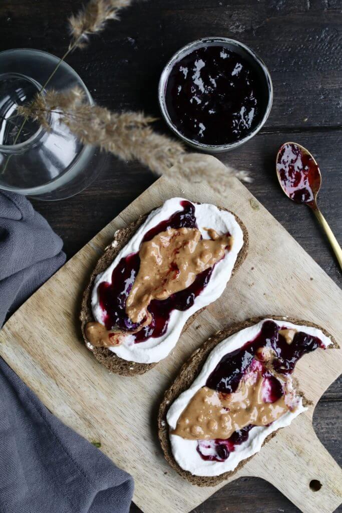 Verwonderend Zoete toast met roomkaas en notenpasta - Beaufood RD-64